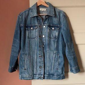 EUC Madewell Oversized Jean Jacket - XS